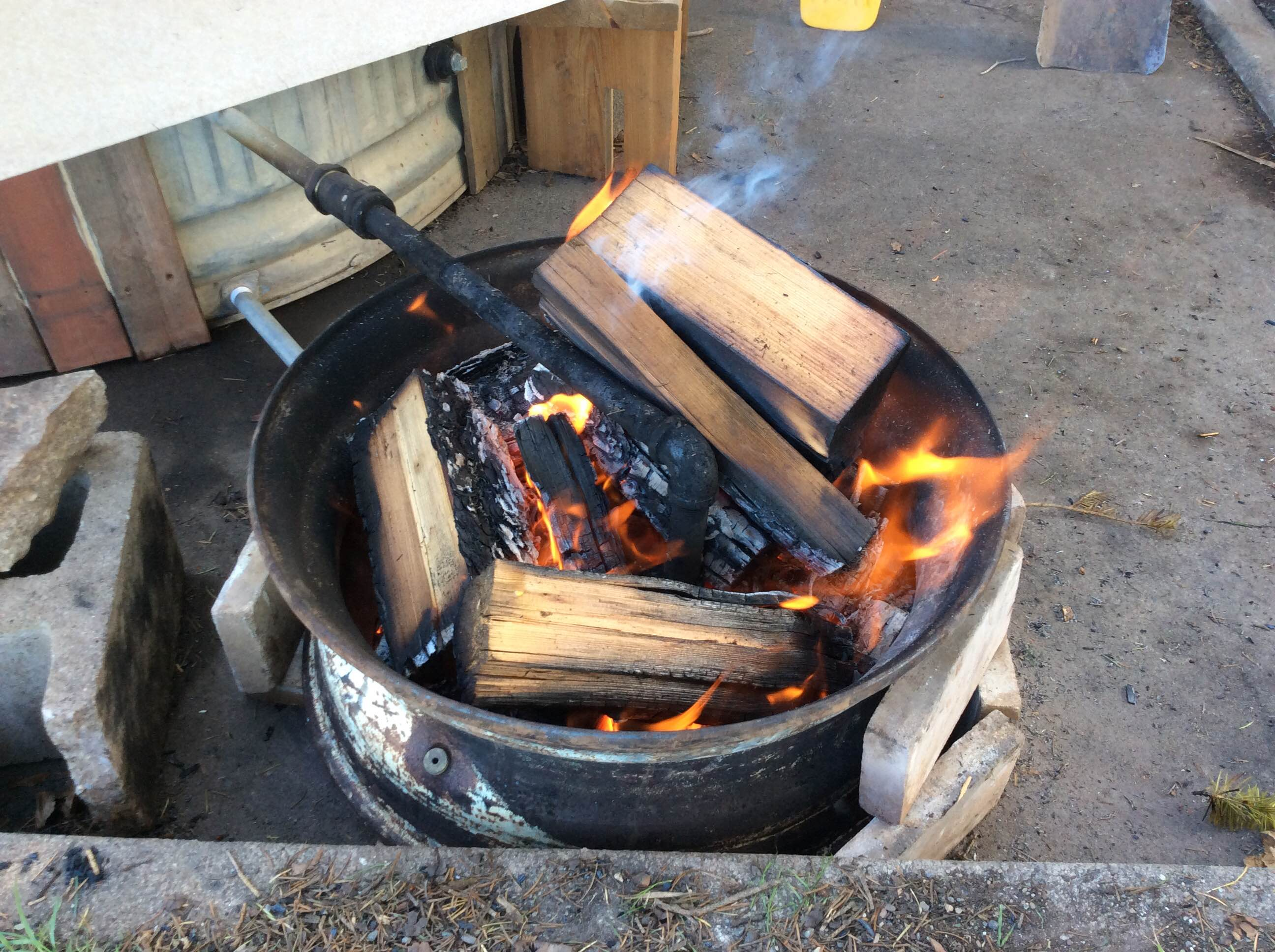 Fire Ring For Hot Tub