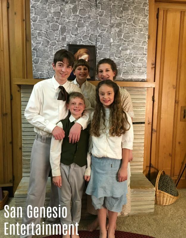 San Genesio Entertainment, Outlaws of Ravenhurst, Outlaws of Ravenhurst Movie, Children's cinema