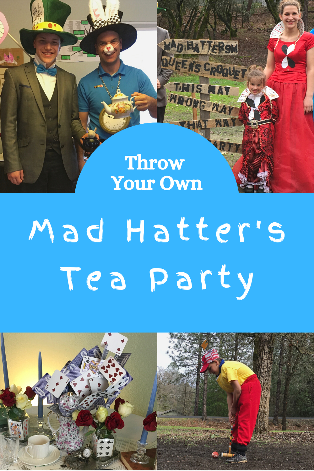 Throw A Mad Hatters Tea Party Theme