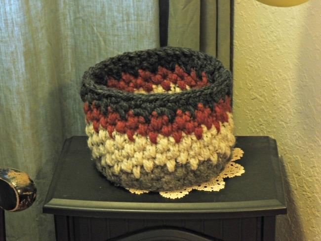 Nicaragua Crochet Basket