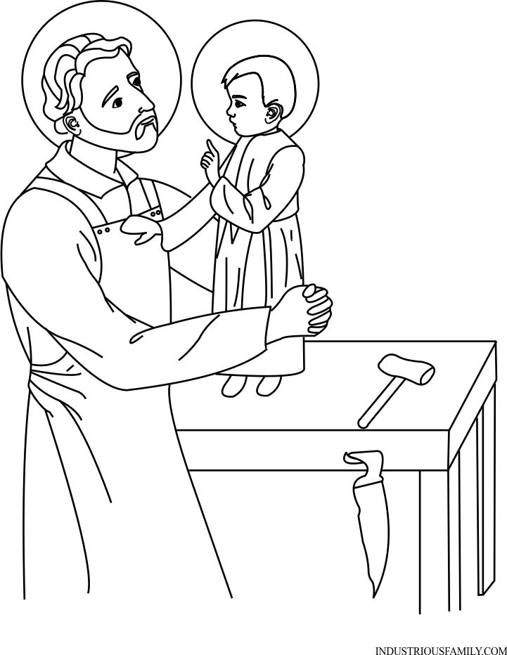 Coloring Pages Of Saints - Coloring Home | 932x721