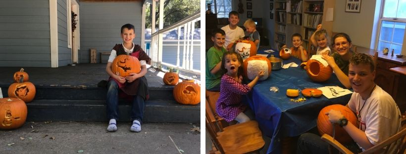 All Hallows Eve Fun With Pumpkins