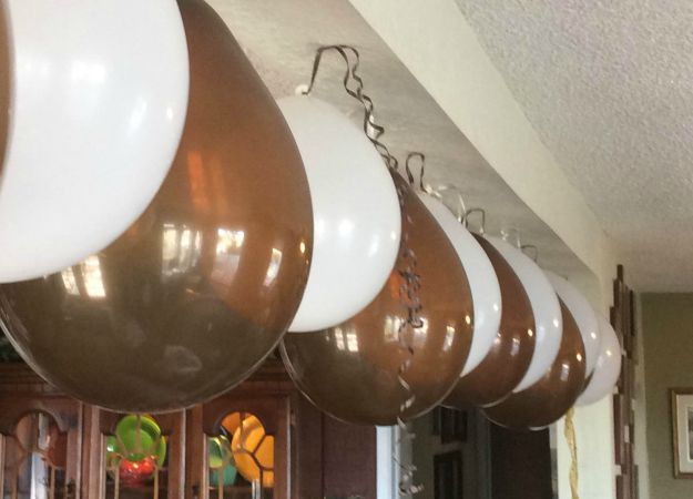 Brown And Cream Balloons