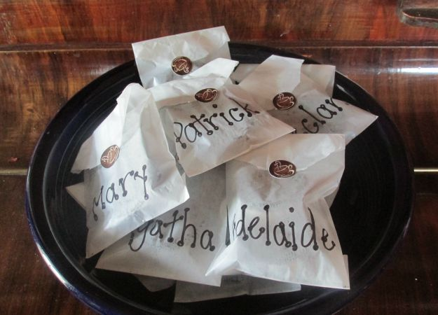 Coffee Theme Party Favors