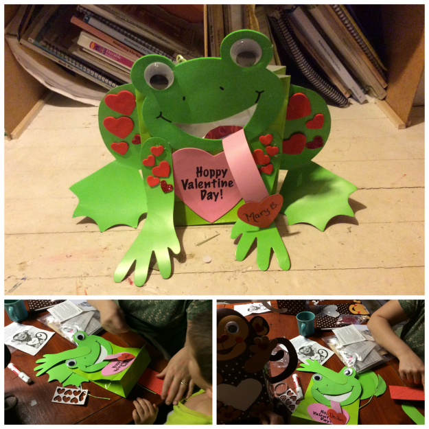 Froggie Valentine Craft