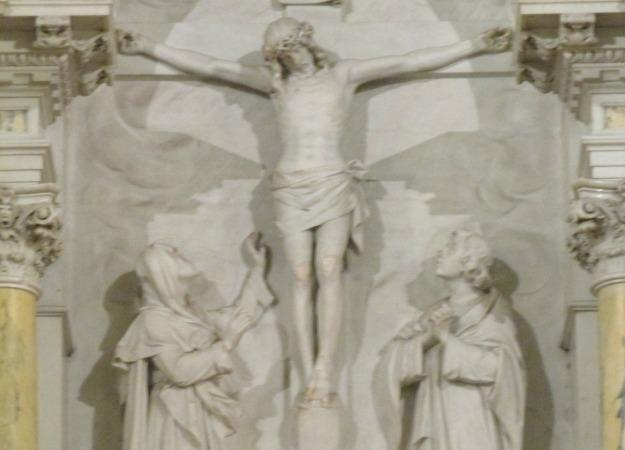 Crucifixion on the High Altar of St. Aloysius at Gonzaga University