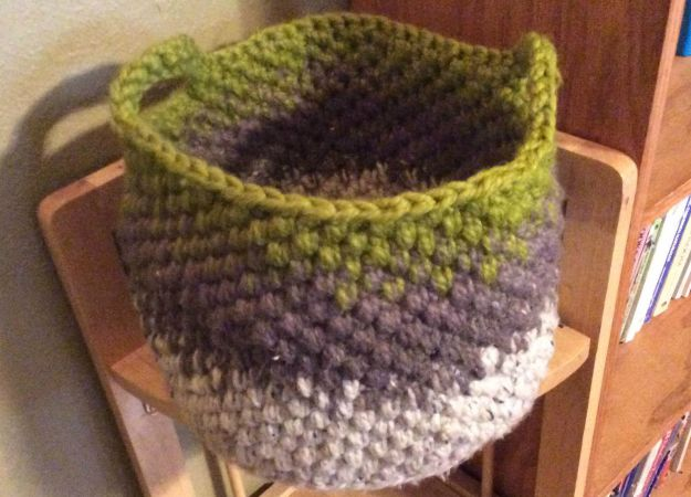 Cali Crochet Basket