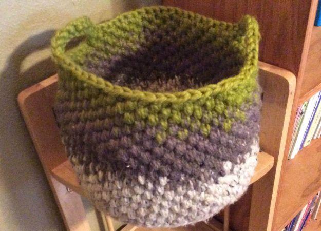Cali Crochet Basket