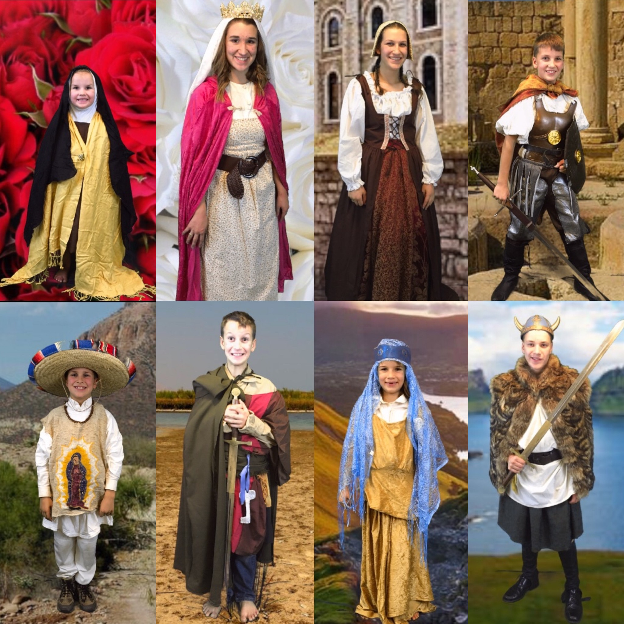 Saints Costumes