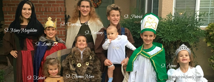 Costumes For All Saints Day