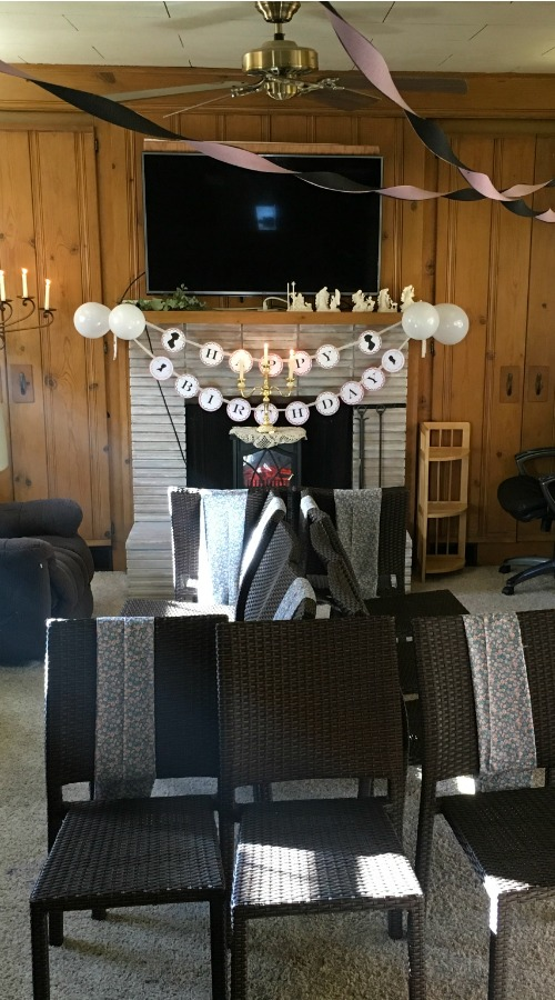 Jane Austen Birthday Party Decorations