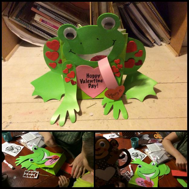 Froggie Valentine Craft