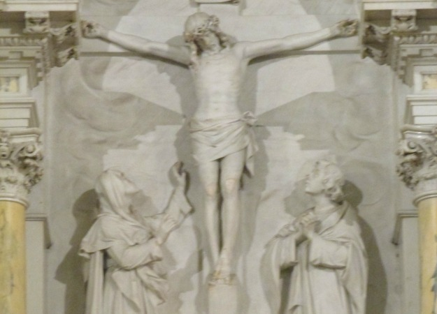 Crucifixion on the High Altar of St. Aloysius at Gonzaga University