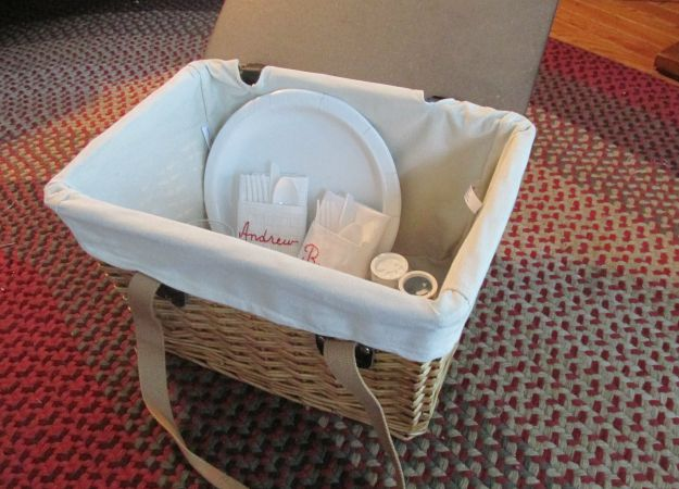 Personalized Picnic Gift  Basket
