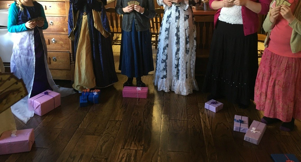 Games For Jane Austen Party
