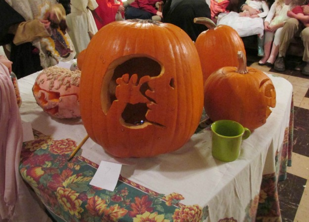 Pumpkin Carved As Unborn Baby