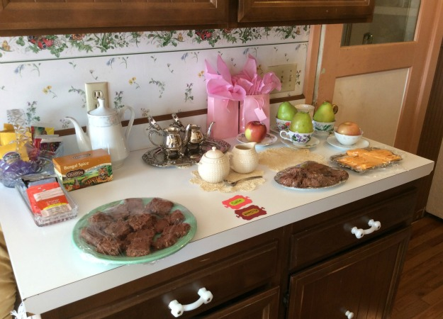 Food For Tea Party